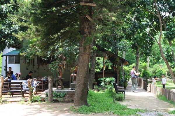 チェンマイのうさぎカフェ