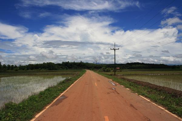 チェンライののどかな田舎風景 2