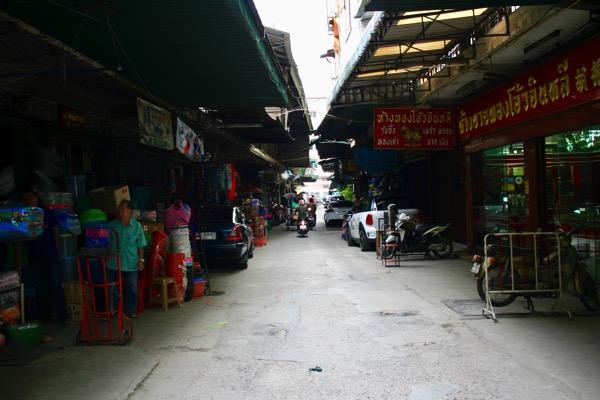 チェンマイのナワラット市場