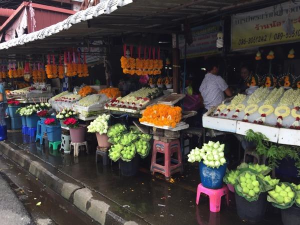 タイの花輪