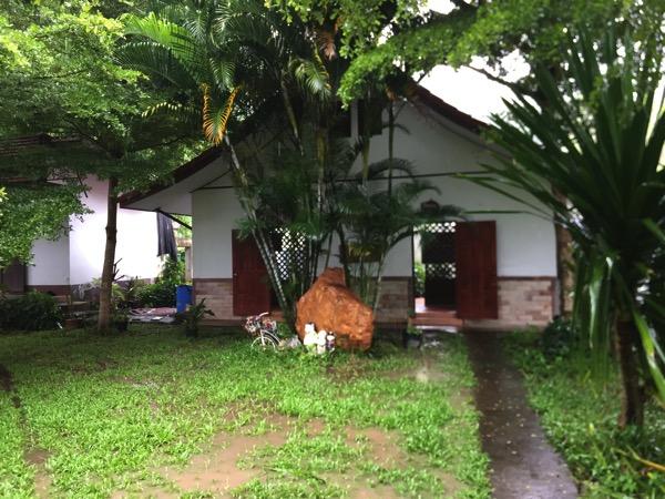ランナー温泉の温泉小屋