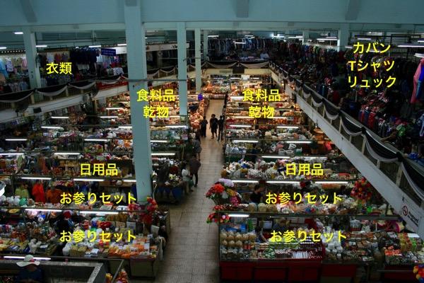 トンラムヤイ市場で売っている商品
