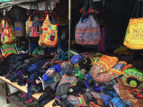 モン族市場の巾着