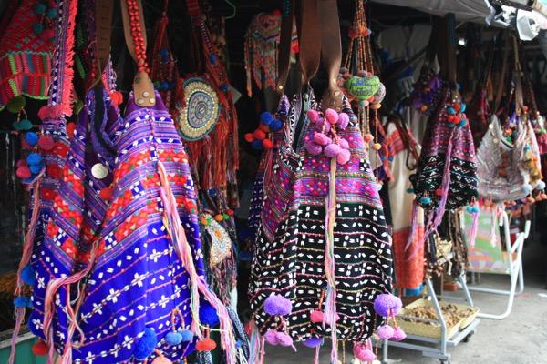 モン族市場のカバン