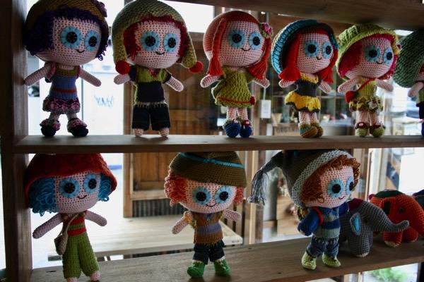バーンタックトーのハンドメイド人形