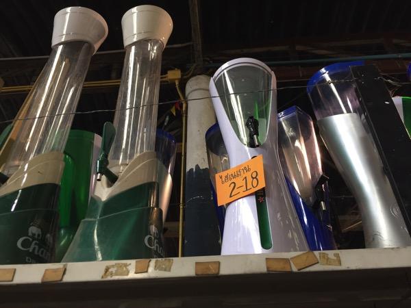 チェンマイのノンホイリサイクルセンターの食器 2