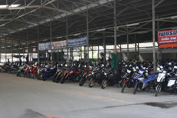 ルアムチョークの中古バイク市場