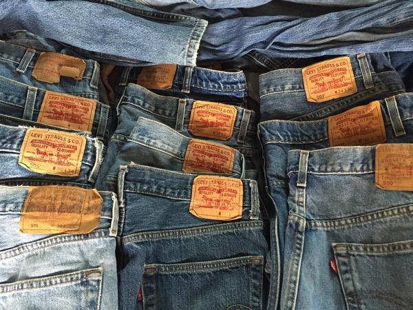 チェンマイ古着倉庫ののジーンズ503