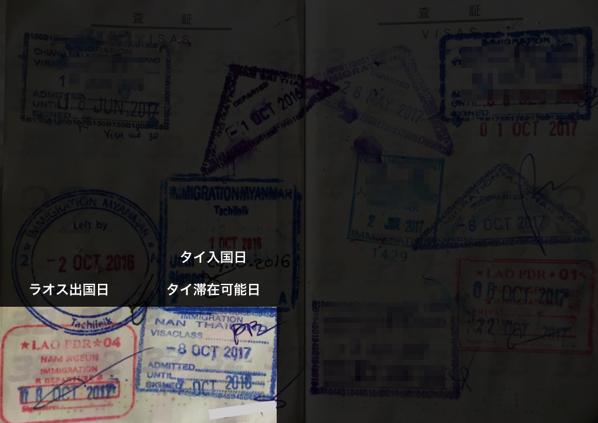 パスポートスタンプ 2