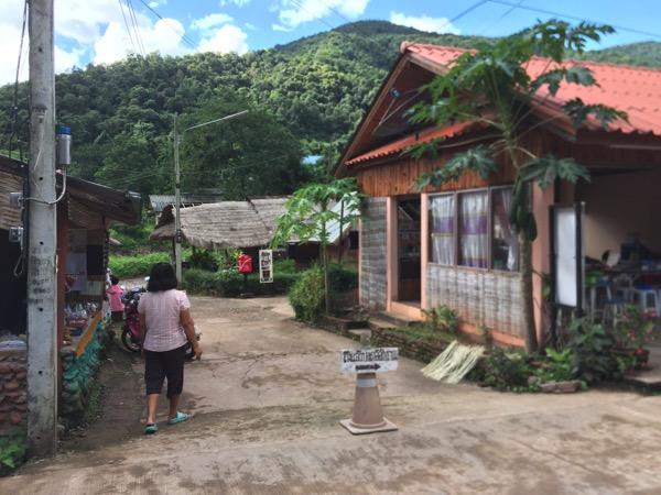 タイ北部ナーン県ボーグルア村