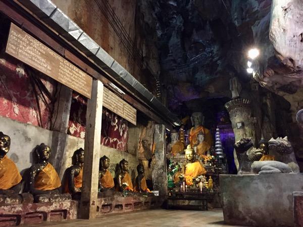 チェンダオ洞窟の仏像 2