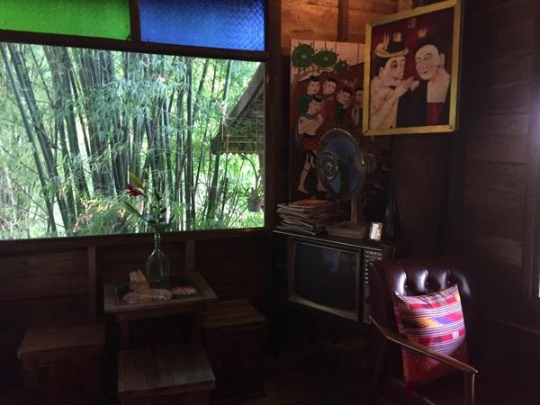 チェンコーンのタイルー族カフェ 1