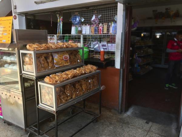 チェンマイバスターミナル1の売店