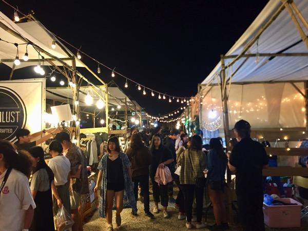 チェンマイFin Marketの雰囲気