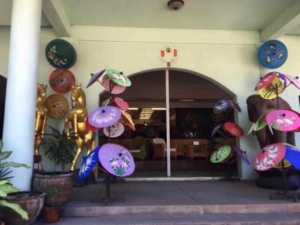 チェンマイThai Artsの入り口