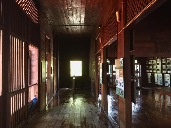 ランプーン博物館の二階-1
