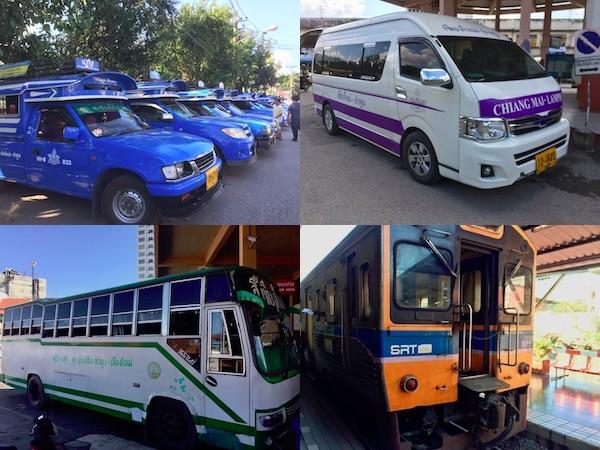 2018年版 – チェンマイからランプーンへの交通・移動手段