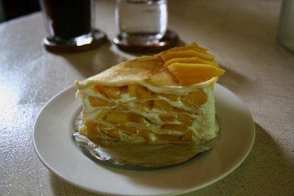 チェンマイ-マイベーカリーのマンゴーミルクレープ-1