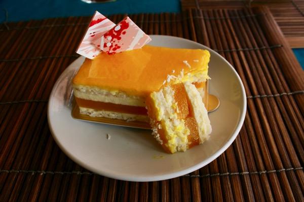 オペラのマンゴーケーキ
