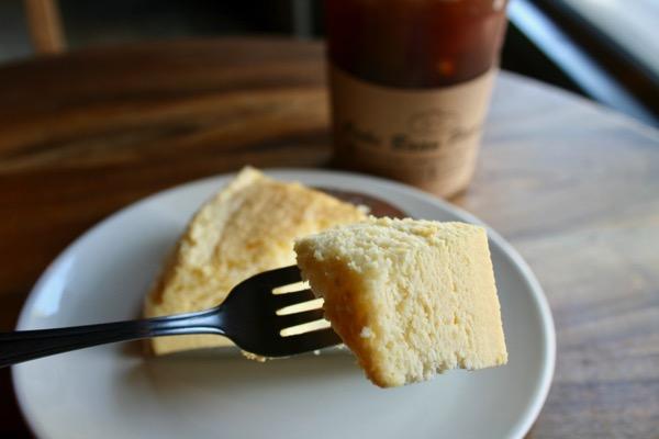 バーンピャムスックの甘くないチーズケーキ