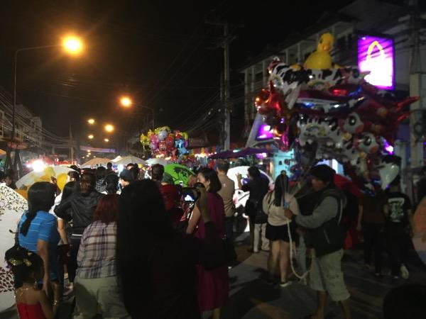 ボーサン祭りの地元の人たち-1