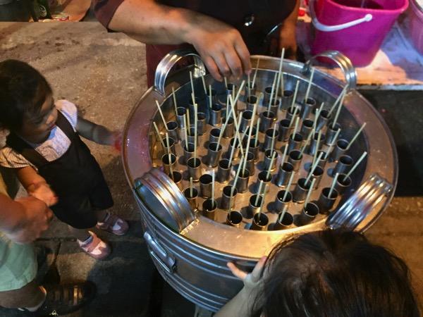 ボーサン祭り-アイスキャンディー屋台