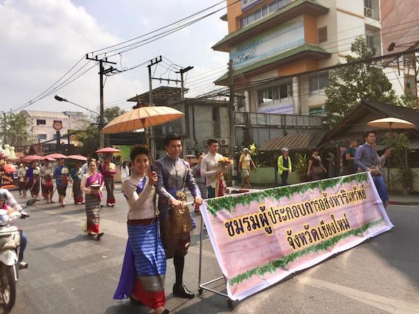 フラワーフェスティバル!チェンマイで毎年2月に開催される花祭り