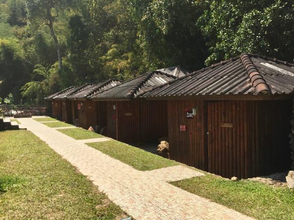 チェンマイ - ポーグワン温泉のバンガロー