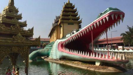 ミャワディちょろっと観光!ヤンゴン行きバスの待ち時間にお寺巡り