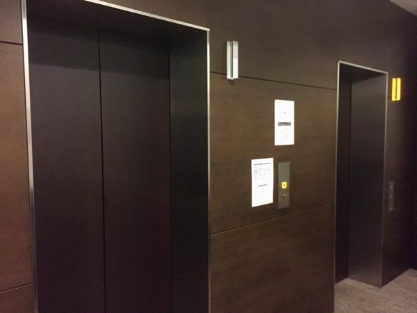 ホテルJALシティ羽田のエレベーター