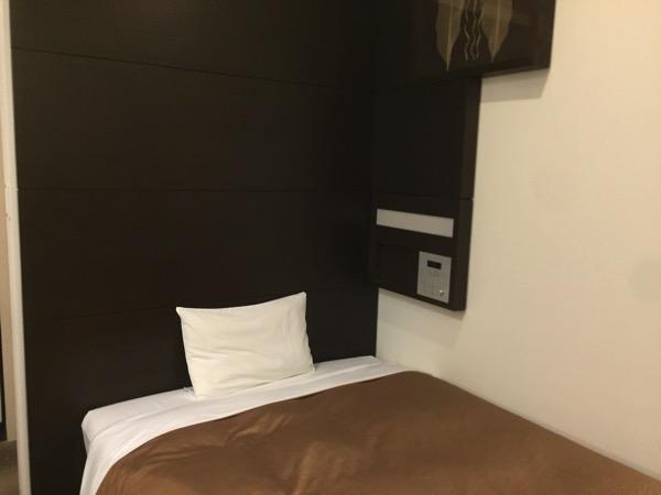 ホテルJALシティ羽田スタンダードのベッド