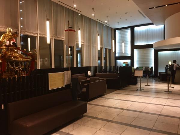 ホテルJALシティ羽田のフロント