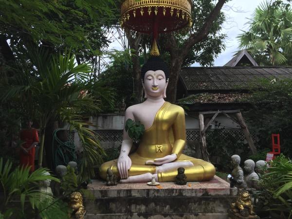 チェンマイ地獄寺の天道