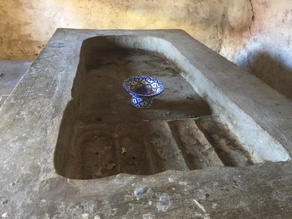ワットプラタートラムパーンルアンの仏足石