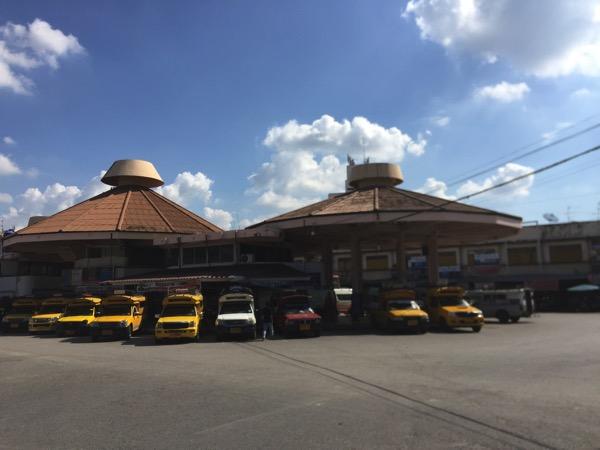 チェンマイバスターミナル1