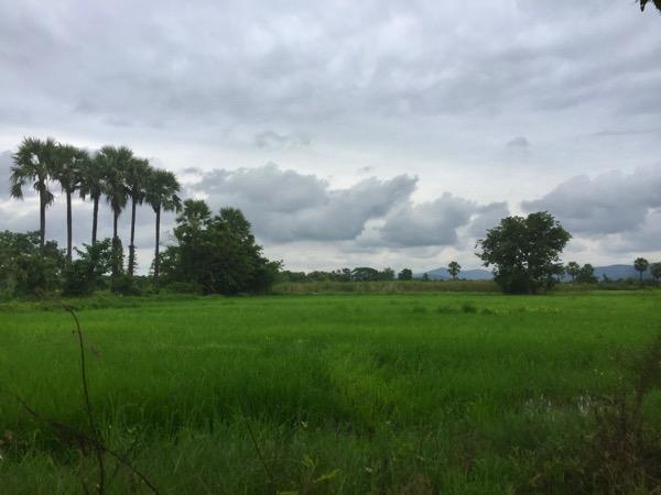 サンカムペーン温泉へ向かう道中の景色
