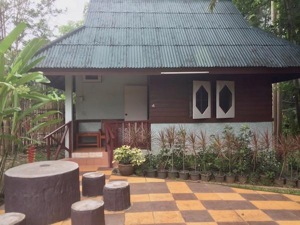 サンカムペーン温泉バンガロータイプの個室