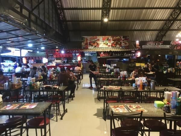 チェンマイコンプレックスの日本料理店