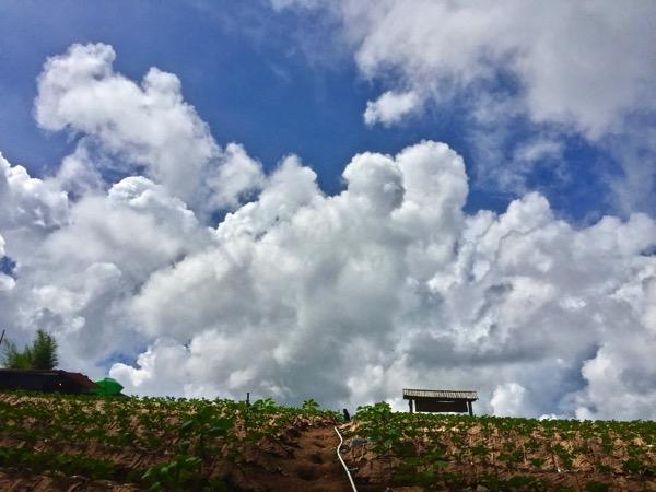 モンチェムの雲の風景