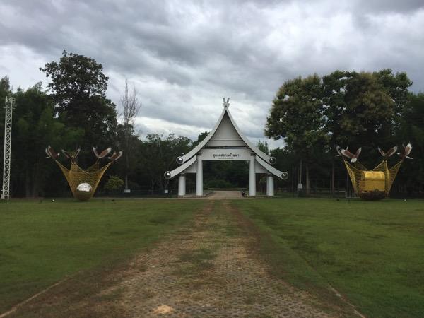イーペンランナーインターナショナルのコムローイ会場であるドゥドンカサターランナーという礼拝所