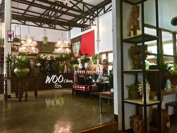 チェンマイ-Woo-Cafeの店内-1