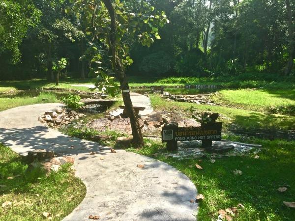 ポン・アーン温泉の温泉井戸