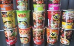 タイのコンビニのカップラーメン(カップ麺)全18種類食べ比べ