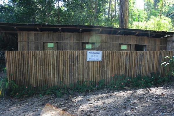 サイ・ガーム温泉の更衣室