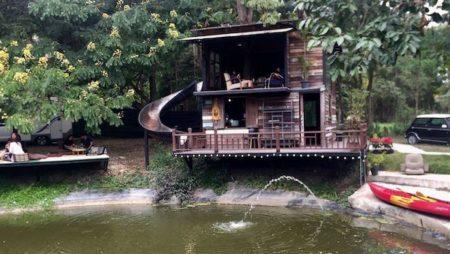 「チェンマイのNo.39 カフェ」緑に囲まれた雰囲気抜群カフェ