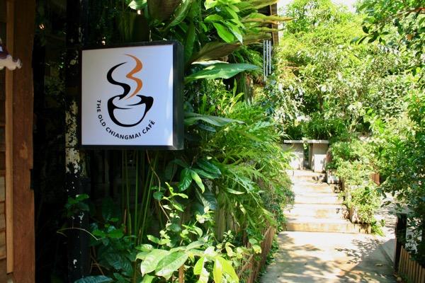 バーンカーンワットのTHE OLD CHIANGMAI CAFE  ESPRESSO BAR