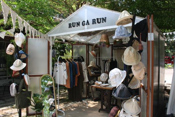 バーンカーンワットに入っているショップRun Ga Runの入り口