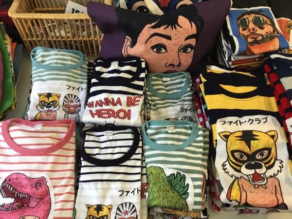 バーンカーンワットに入っているショップGallery Kang WatのTシャツ