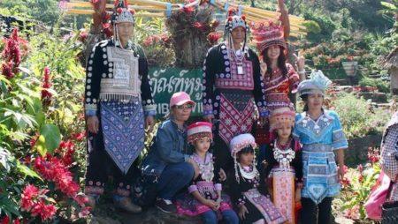 モン族の村観光ガイド