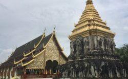 チェンマイ最古のお寺